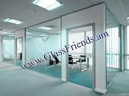Ապակյա միջնորմներ -(Apakya mijnormner) Glassfriends - photo 2