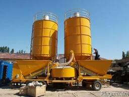 Бетонный завод Мобильный 10-120 м3/час БСУ