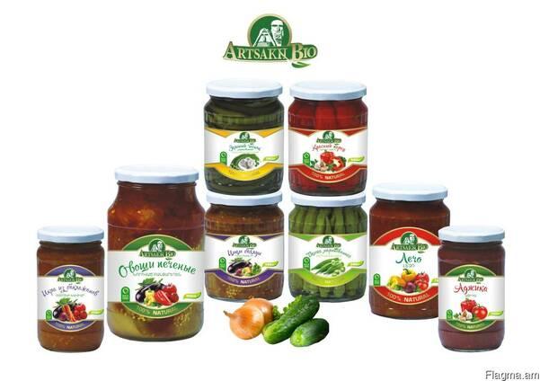 Овощная консервация от производителя