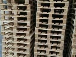 Поддон, паллет деревянный 800х1200,1000х1200 нов. и б/у - фото 3