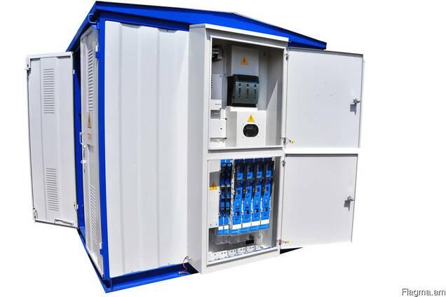 Подстанции трансформаторные комплектные тупиковые – КТП-