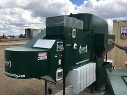 Аэродинамический сепаратор для очистки и калибровки зерна