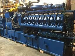Б/У газовый двигатель MWM TBG 620, 1995 г. , 1 052 Квт.