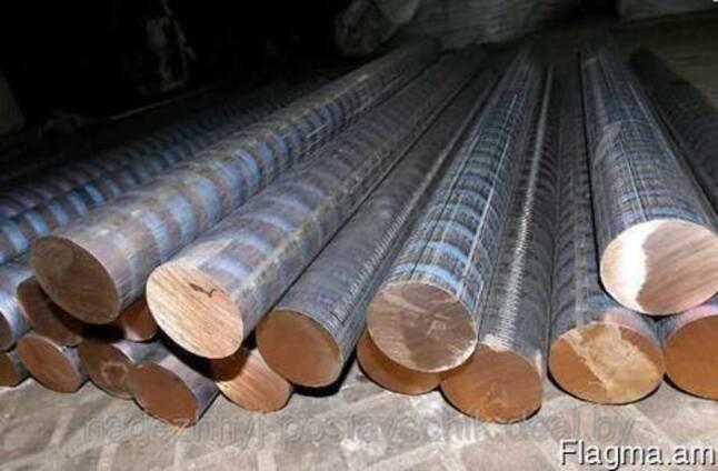 Бронз круг броцс 5-5 марки диам 40мм 80мм