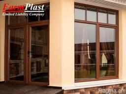 Մետաղապլաստե դռներ և պատուհաններ (Evro drner)