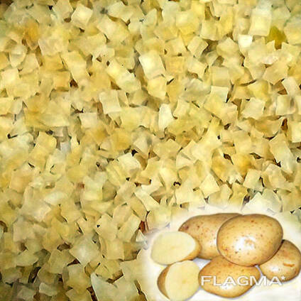 Картофель сушеный, Dried potatoes