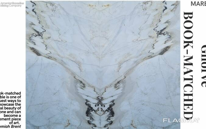 Мрамор, Мраморные слэбы и плиты, Marble slabs and tiles