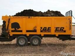 Навозоразбрасыватель органических удобрений X10 (10 тонн)