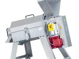 Протирочная машина для вишен, слив, абрикос, яблок 1000 кг/ч
