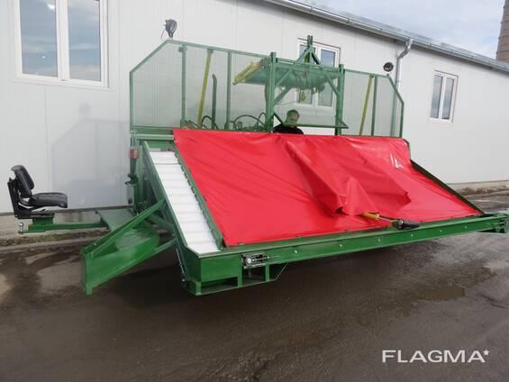 Самоходная машина для уборки вишни, сливы и оливок SP-08
