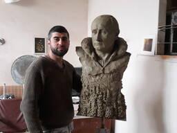 Скульптура В. В. Путина , Портрет