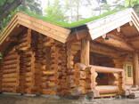 Срубы домов из кругляка - photo 4